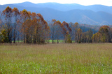 Autumn in Cades Cove, Smoky Mountains National Park, Tennessee, USA Reproduction photographique par Anna Miller