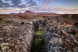 Iceland , Northeast Iceland, Lava Fields in the North Western Higlands Photographic Print by Vincenzo Mazza