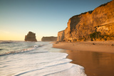 Great Ocean Road, Port Campbell National Park, Victoria, Australia. Gibson Steps Beach at Sunset Photographic Print by Matteo Colombo