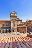 Italy, Lombardy, Mantova District, Mantua, Piazza Delle Erbe and Torre Dell'Orologio Photographic Print by Francesco Iacobelli