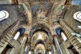 Byzantine Mosaic of Church Santa Maria Dell Ammiraglio (Martorana), Palermo, Sicily, Italy Photographic Print by Ivan Vdovin
