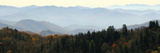 Clingmans Dome panorama, Smoky Mountains National Park, Tennessee, USA Photographic Print by Anna Miller