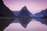 Mitre Peak, Milford Sound, Fiordland National Park, South Island, New Zealand Photographic Print by Doug Pearson