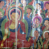 Mural Painting (11th Century), Dratang Monastery, Lhoka (Shannan) Prefecture, Tibet, China Photographic Print by Ivan Vdovin