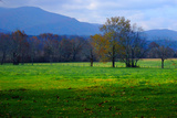 Autumn in Cades Cove, Smoky Mountains National Park, Tennessee, USA Photographic Print by Anna Miller