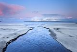 United Kingdom, Uk, Scotland, Highlands, Blue Dawn at Eigg Island Photographic Print by Fortunato Gatto