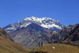 Argentina, Mendoza, Aconcagua Pronvicial Park, Mt Aconcagua Photographic Print by Michele Falzone