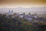 South America, Brazil, North East, Sergipe, Sao Cristovao, General View of Sao Cristovao at Dawn Photographic Print by Alex Robinson