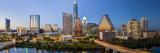 City Skyline Viewed across the Colorado River, Austin, Texas, Usa Fotografisk tryk af Gavin Hellier