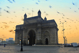 India, Maharashtra, Mumbai, Gateway of India, the Gateway of India at Dawn Photographic Print by Alex Robinson