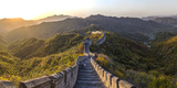 The Great Wall at Mutianyu Nr Beijing in Hebei Province, China Photographic Print by Peter Adams