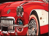 Vette Stretched Canvas Print by Rosa Mesa