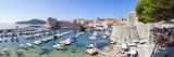 Picturesque Harbor, Stari Grad (Old Town), Dubrovnik, Dalmatia, Croatia Photographic Print by Doug Pearson