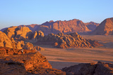 Tourist Taking Photographs, Wadi Rum, Jordan, Middle East Photographic Print by Neil Farrin
