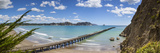 View over the Picturesque Tologa Bay Wharf, Tologa Bay, East Cape, North Island, New Zealand Photographic Print by Doug Pearson