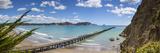 View over the Picturesque Tologa Bay Wharf, Tologa Bay, East Cape, North Island, New Zealand Lámina fotográfica por Doug Pearson