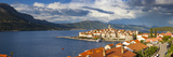 Elevated View over Picturesque Korcula Town, Korcula, Dalmatia, Croatia Photographic Print by Doug Pearson