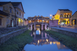 Japanese Bridge at Dusk, Hoi an (Unesco World Heritage Site), Quang Ham, Vietnam Photographic Print by Ian Trower
