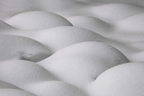 Slovenia, Sensual Shapes on Snow Photographic Print by Cristiana Damiano
