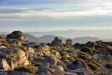 The Top of the Highest Mountain Range in Continental Portugal. Serra Da Estrela Nature Park Photographic Print by Mauricio Abreu