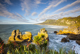 The Coast at Punakaiki, West Coast, South Island, New Zealand Photographic Print by Doug Pearson