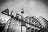Alexanderplatz Station and Fernsehturm, Behind, Berlin, Germany Photographic Print by Jon Arnold