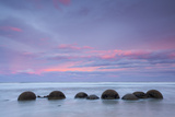 Moeraki Boulders, South Island, New Zealand Photographic Print by Doug Pearson