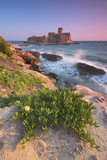 Italy, Calabria, Crotone, Sunset at Le Castella Photographic Print by Alfonso Morabito