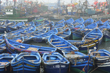 Traditional Fishing Boats in the Busy Fishing Harbour Photographic Print by Mauricio Abreu