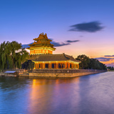 China, Beijing, Forbidden City, Palace Moat Photographic Print by Alan Copson