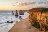 Great Ocean Road, Port Campbell National Park, Victoria, Australia. Twelve Apostles at Sunset Photographic Print by Matteo Colombo