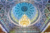 Oman, Muscat. the World's Largest Swarovski Cyrstal Chandelier in the Main Prayer Hall Photographic Print by Matteo Colombo