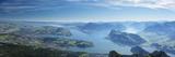 Lake Luzurn from Pilatus, Luzern Canton, Switzerland Photographic Print by Jon Arnold