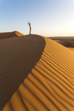 Oman, Wahiba Sands. Tourist on the Sand Dunes (Mr) Photographic Print by Matteo Colombo