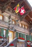 Hotel Baren, Gsteig, Berner Oberland, Switzerland Photographic Print by Jon Arnold
