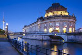 Bode Museum and Spree River, Berlin, Germany Photographic Print by Jon Arnold