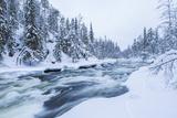 Peter Adams - River, Juuma, Oulankajoki National Park, Kuusamo, Finland - Fotografik Baskı