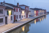 Italy, Emilia Romagna, Comacchio Houses by a Canal Photographic Print by Roberto Cattini