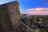 Three Rivers Petroglyph Site, Blm, New Mexico, Usa Photographic Print by Christian Heeb