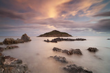 Italy, Sardinia, Teulada,The Small Island of Campionna Photographic Print by Alessandro Carboni