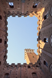 Italy, Tuscany, Siena District, Siena. Torre Del Mangia Photographic Print by Francesco Iacobelli