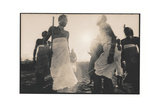 Samburu Dancers Performing Traditional Dance in Kenya Photographic Print by Paul Joynson Hicks