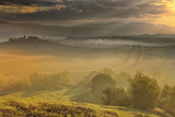 Italy, Tuscany, Siena District, Orcia Valley. San Quirico D'Orcia. Photographic Print by Francesco Iacobelli