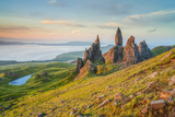 United Kingdom, Uk, Scotland, Inner Hebrides, Isle of Skye, Old Man of Storr Photographic Print by Fortunato Gatto