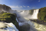 Brazil, Iguassu Falls National Park (Cataratas Do Iguacu), Devil's Throat (Garganta Do Diabo) Photographic Print by Michele Falzone