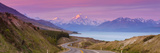 Mount Cook (Aoraki) Illuminated Photographic Print by Doug Pearson