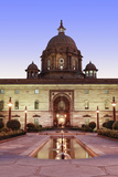 Asia, India, Delhi; the Secretariat - Parliament Buildings by Herbert Baker on Raisina Hill Photographic Print by Alex Robinson
