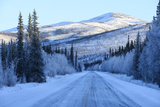 Chena Hot Springs Road.Fairbanks,Alaska,Usa Photographic Print by Christian Heeb