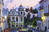 Brazil, Pernambuco, Olinda Old Town (Unesco Site), Sao Bento Monastery Photographic Print by Michele Falzone