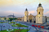 Peru, Lima, Cathedral Photographic Print by John Coletti